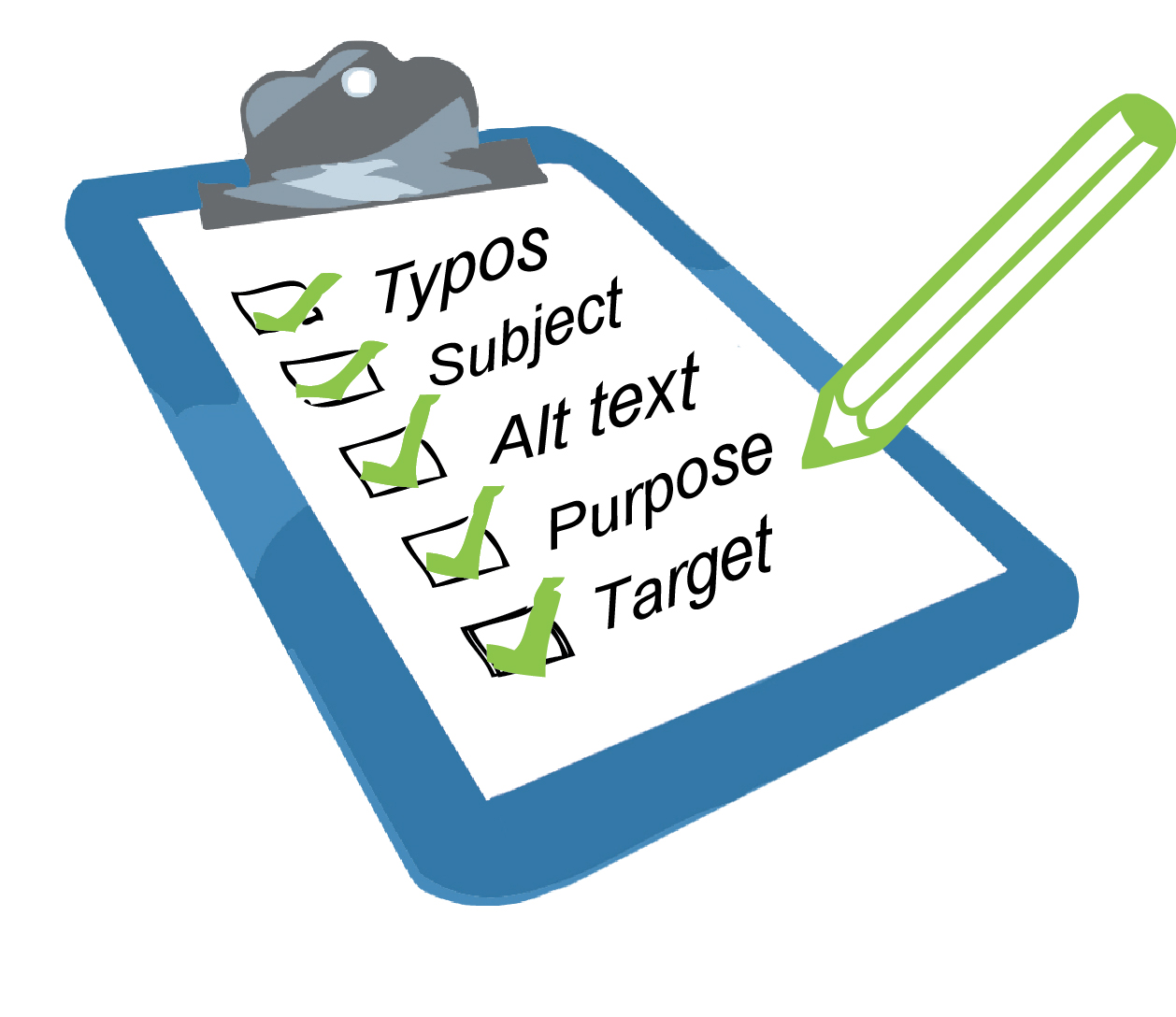 Newsletter-Checklist